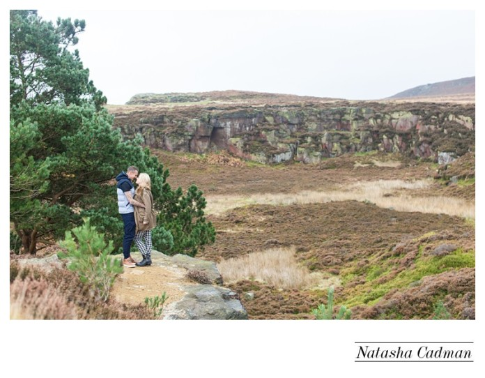 cow and calf engagement session, Yorkshire wedding photography