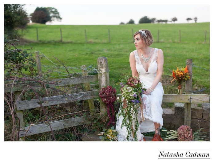 Sunset bridal shoot Yorkshire,Yorkshie bridal shoot, Autumn weddings yorkshire